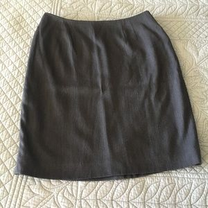 Ellen Tracy Gray Skirt